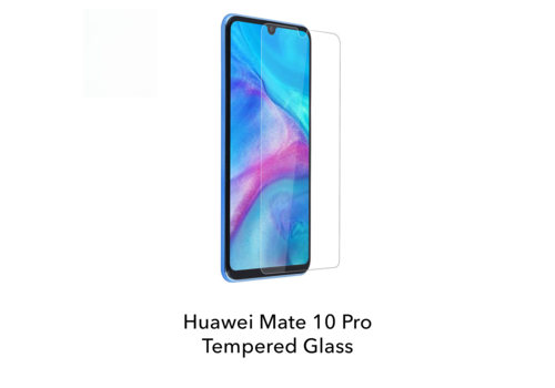 Huawei Mate 10 Pro - Tempered Hard Glass Screenprotector