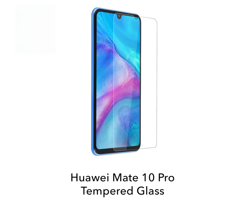 Mate 10 Pro - Tempered Hard Glass Screenprotector