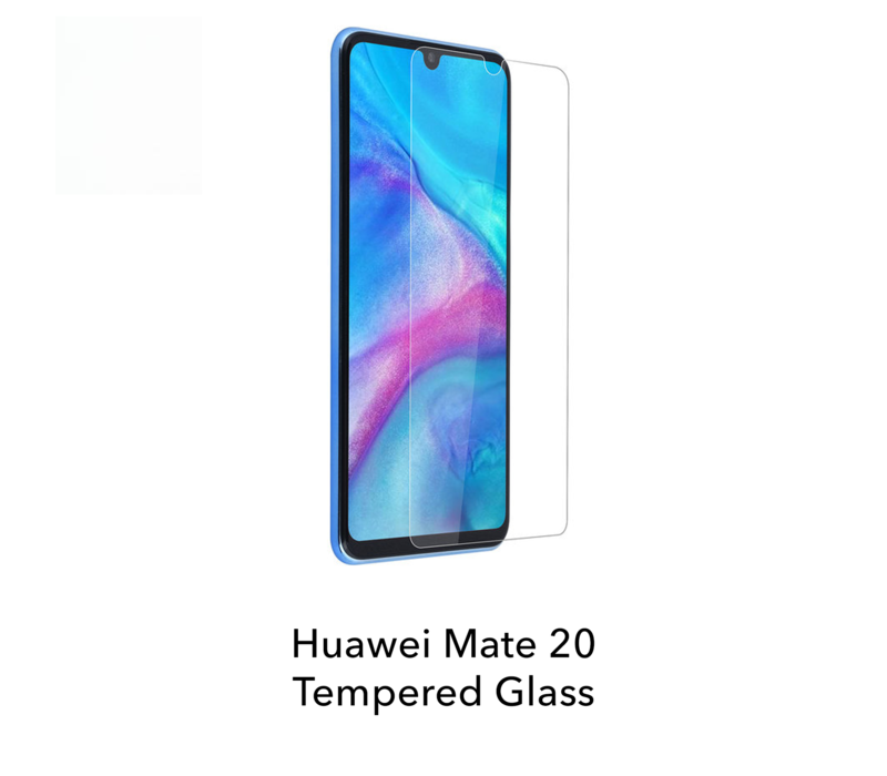 Mate 20 - Tempered Hard Glass Screenprotector