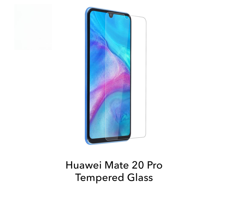Mate 20 Pro - Tempered Hard Glass Screenprotector
