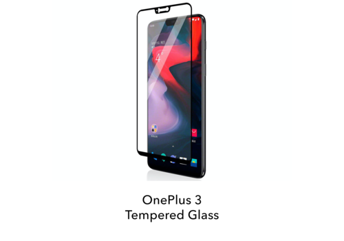 OnePlus 3 - Tempered Hard Glass Screenprotector