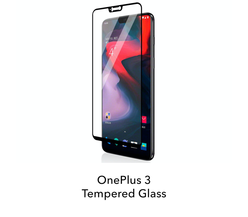 3 - Tempered Hard Glass Screenprotector
