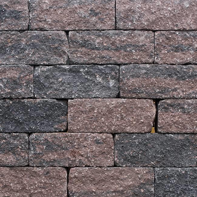 Wallblock Tumbled 30x12x12 Brons