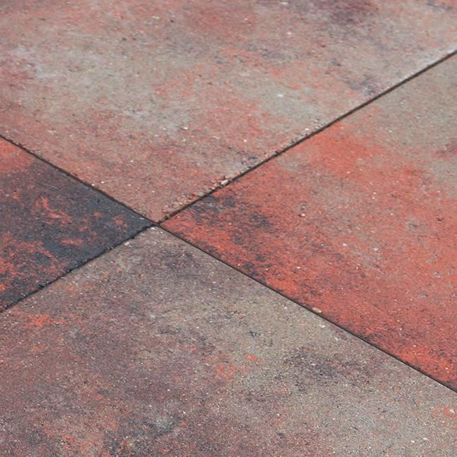 Carre Nero Rosso 50x50x5 cm