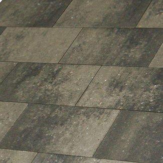 Metro Vlaksteen Grijs-zwart 20x30x4 cm