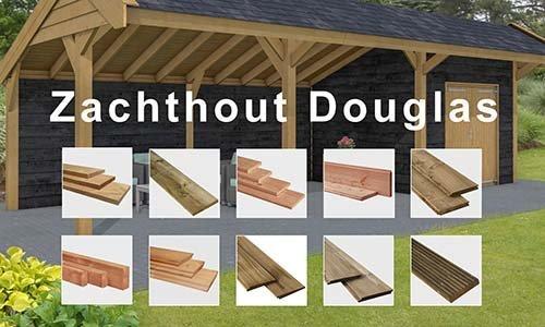 Zachthout Profielen Douglas