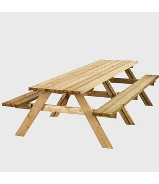 Zachthouten picknicktafel Wormer