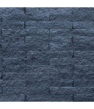 Wallblock Split Antraciet 15x6x40