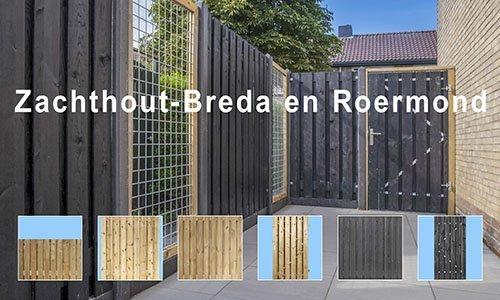 Zachthout Schuttingen Grenen - Breda - Roermond