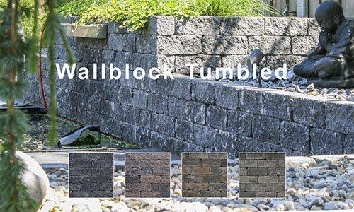 Wallblock Tumbled-Getrommeld Stapelblok
