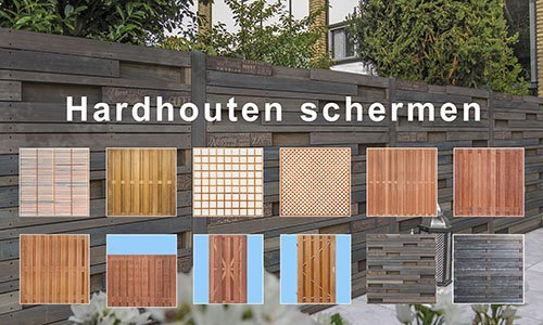 Hardhout Schermen - Deuren