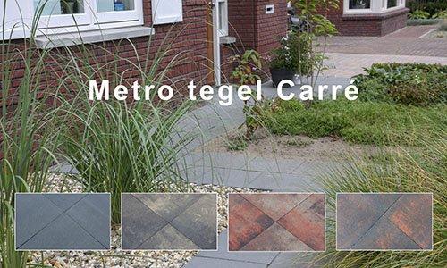 Metro tegel carré strak sierbestrating nederland