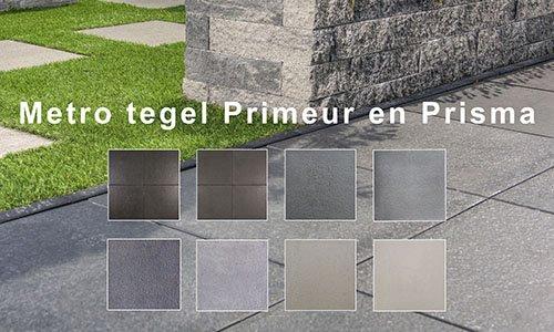 Metro tegels primeur en prisma sierbestrating nederland