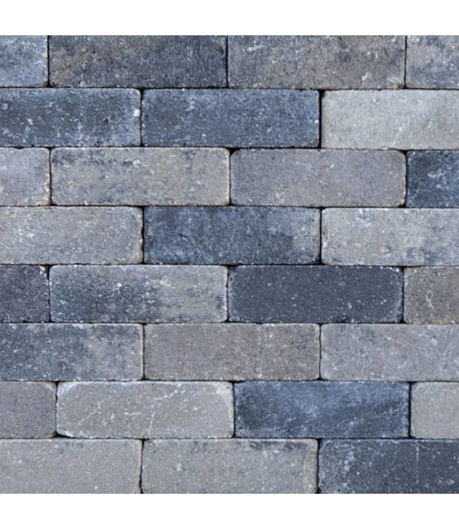 Dikformaat Grijs-zwart 21x7x7 cm
