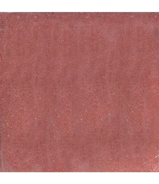 Betontegel Rood 30x30x4,5 cm
