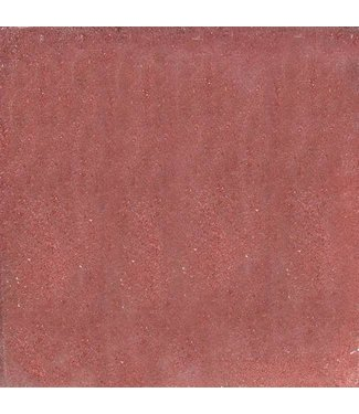 Halve betontegel Rood 15x30x4,5 cm