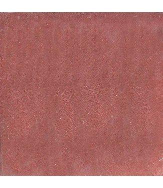 Halve betontegel Rood