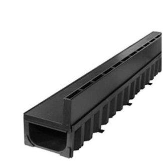 Hexaline Slotline goot 100cm, zwarte sleuf
