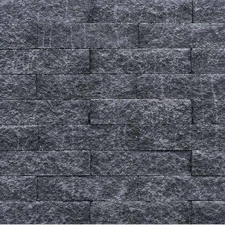 Wallblock Split Antraciet 10x10x40
