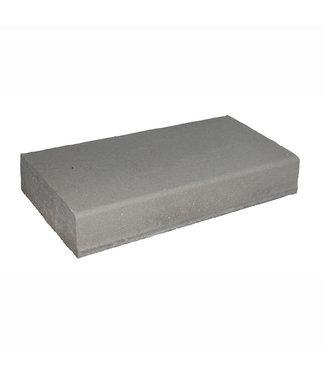 Blok-/traptrede Grijs met anti-slipoppervlakte