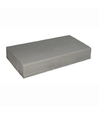 Bloktrede / Traptrede Grijs met anti-slipoppervlakte