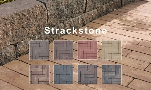 Strackstone een strakke straatsteen