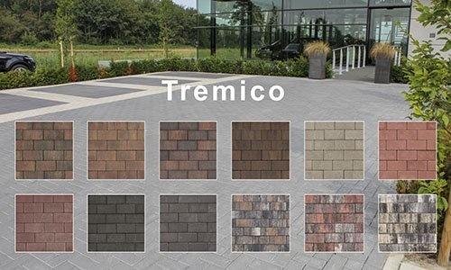 Tremico betonsteen met deklaag