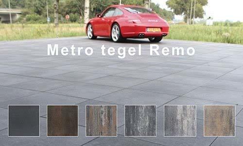 productgroep betontegels metro remo. Strakke betontegels in verschillende afmetingen.