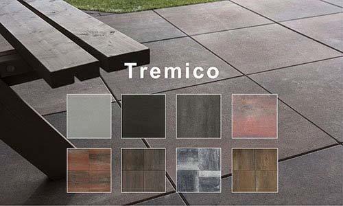 Product groep tremico betontegels.