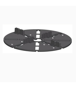 Spacer 3 Zwart 4 mm