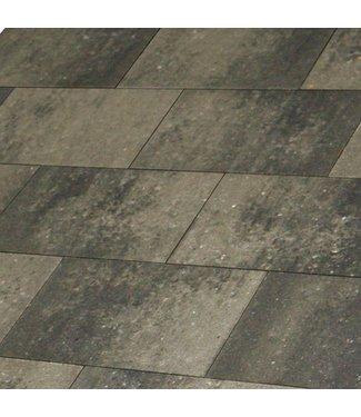 Metro Vlaksteen Grijs-zwart 20x30x6 cm