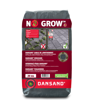 "Fixs Dansand ""No Grow"" 20 kg voegzand Dark"