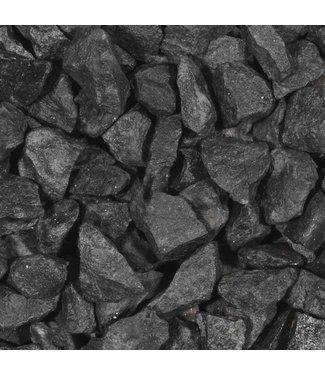 Basalt brokken 25-63mm 20 kg