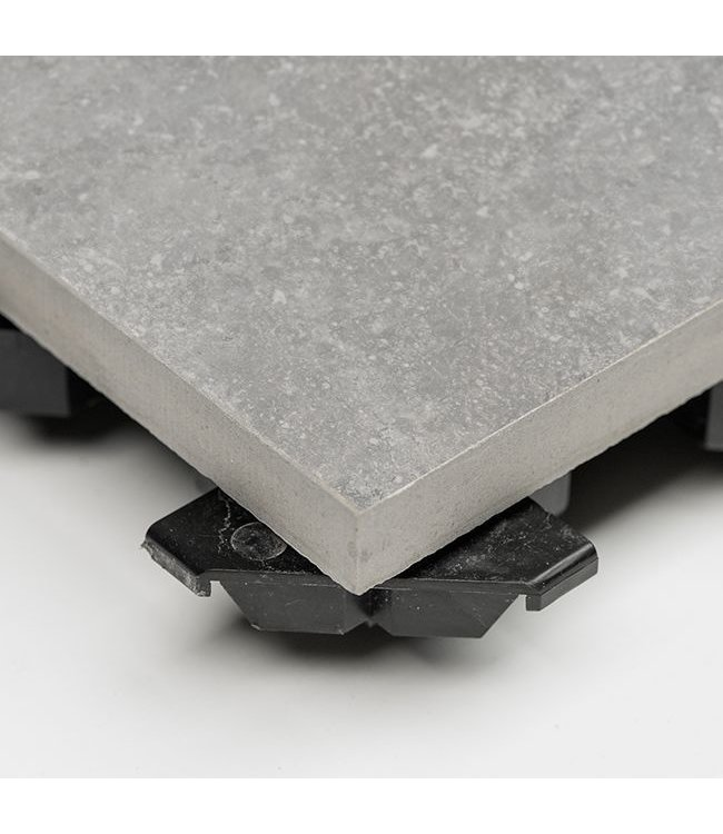 Ceramidrain Quartz Greige 60x60x4