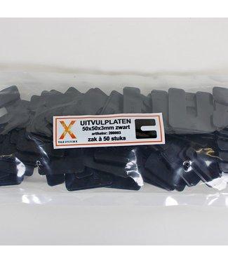 Vulplaatjes 3 mm voor Ceramidrain tegels
