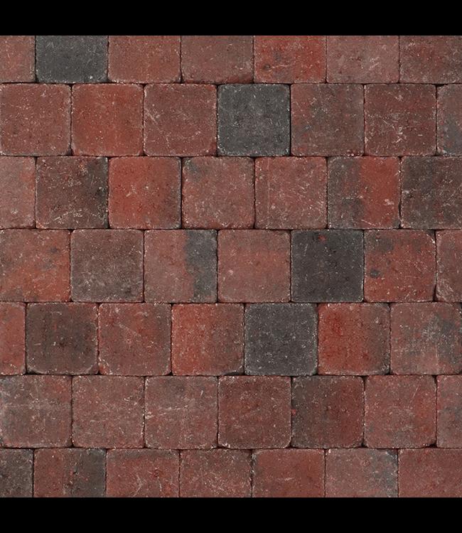 Tambour Rood-zwart 10x10x6 cm
