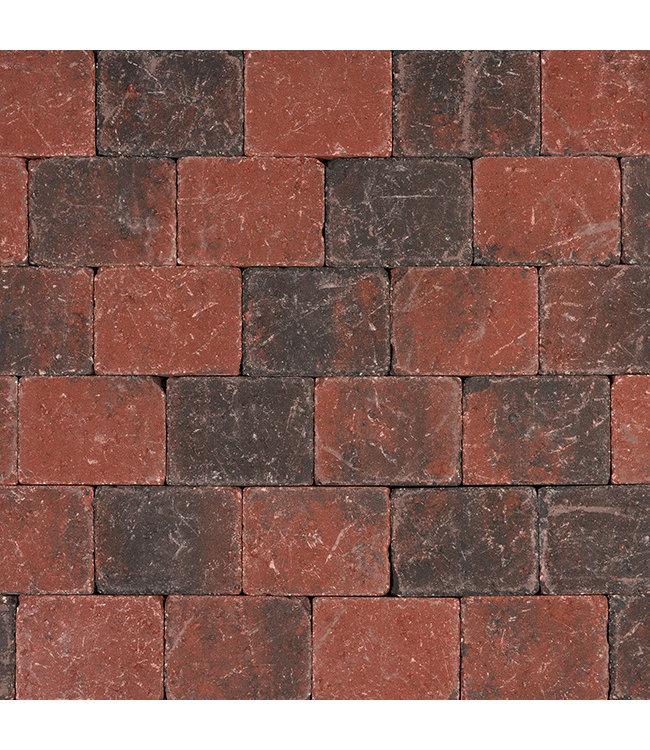 Tambour Rood-zwart 15x20x6 cm