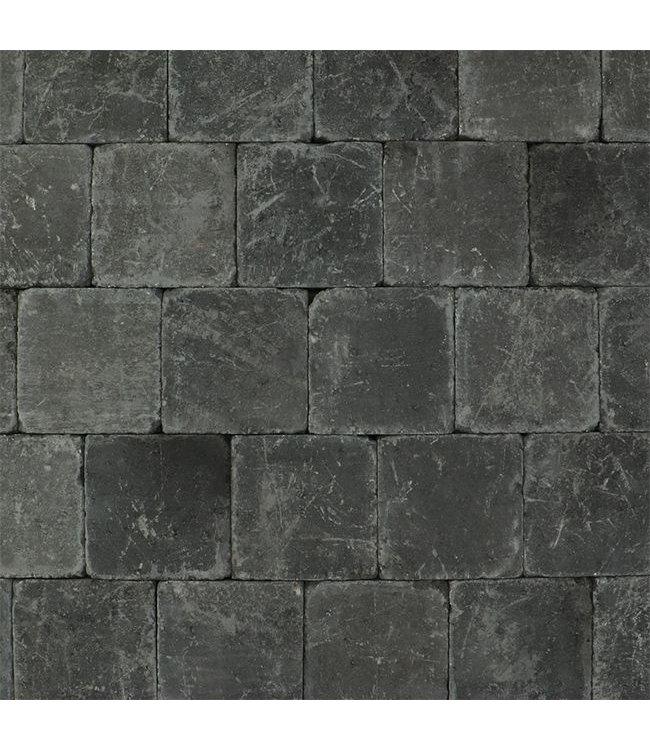 Tambour Antraciet 20x20x6 cm