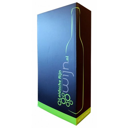 Leidscherijnwijn 2 fles verpakking!