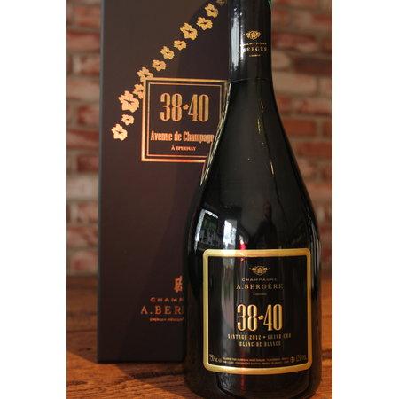 A. Bergère Champagne 38-40
