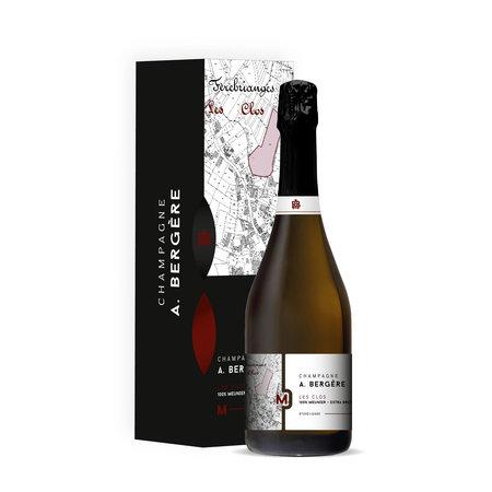 A. Bergère Champagne Les Clos 100% Meunier  - Extra Brut - Magnum