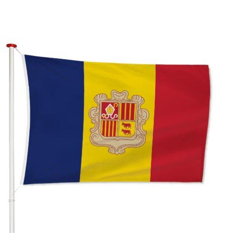 Andorraanse Vlag