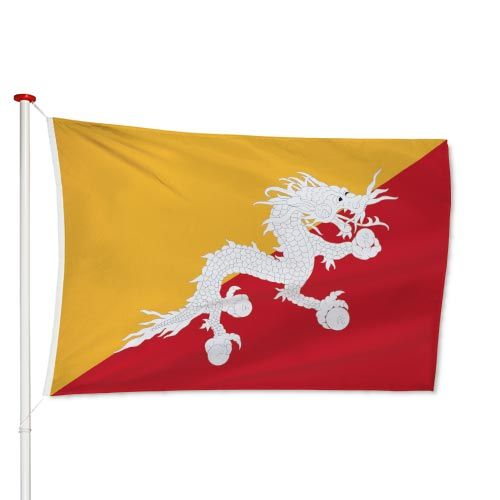 Bhutanese Vlag