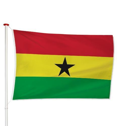 Ghanese Vlag
