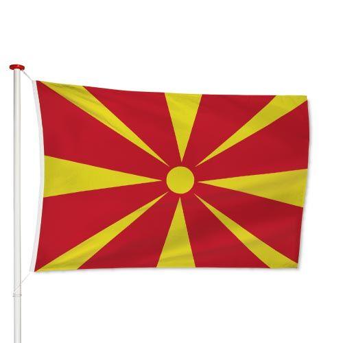 Macedonische Vlag