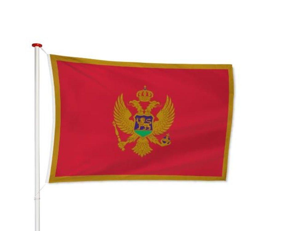 Montenegrijnse Vlag