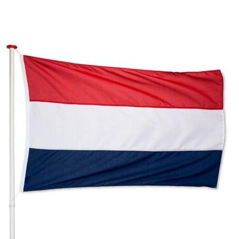 Marineblauwe Nederlandse Vlag