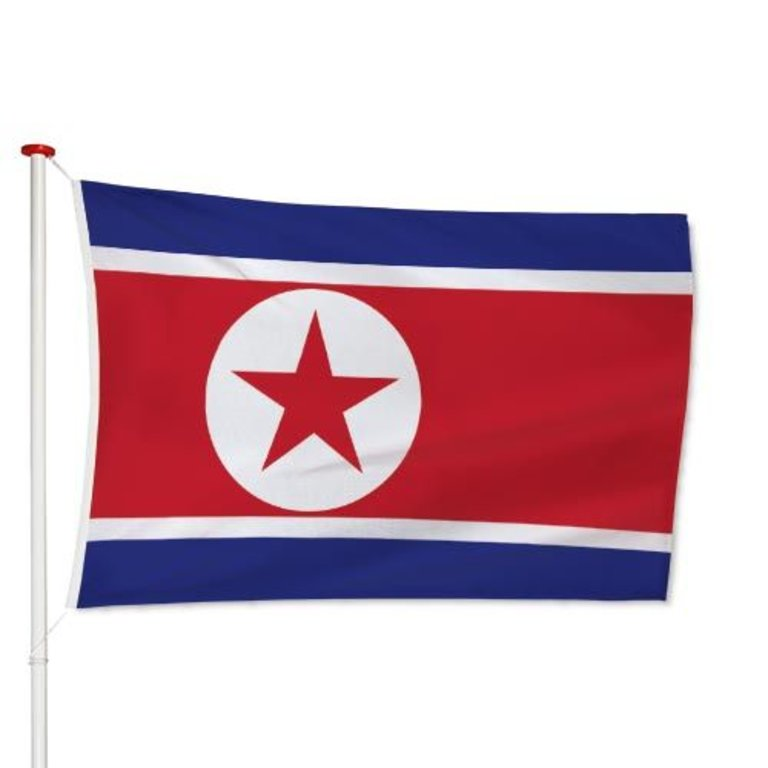 Noord-Koreaanse Vlag