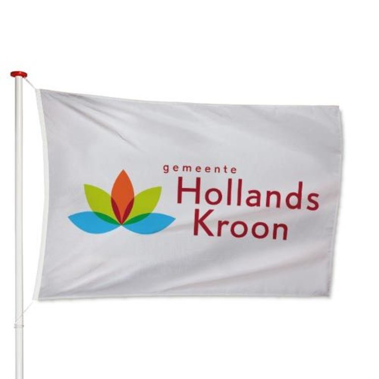 Vlag Hollands Kroon