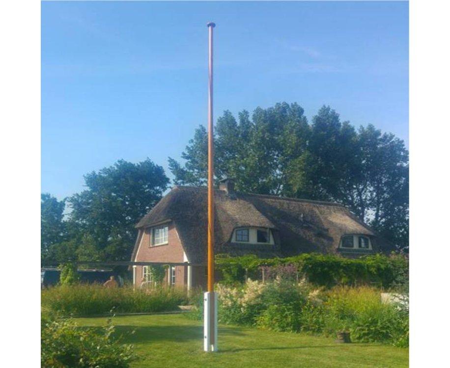 Houten Vlaggenmast 6 Meter
